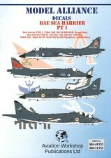 NEW 1:48  Model Alliance 48153 BAe Sea Harrier FRS.1 Part 1