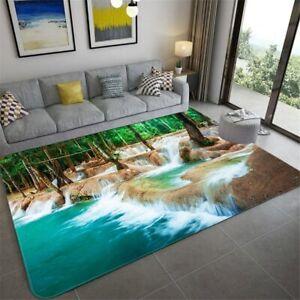 Living Room Carpet Landscape Rug Bedroom Anti-slip Carpet In The Bathroom Mat