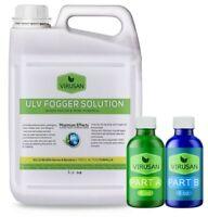 Disinfectant Fogger Spray Virusan 240 Gal Bulk Sanitizer 360k sq ft SEE VIDEO!