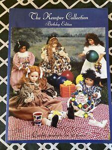 Kemper Collection Birthday Edition Catalog Doll Supplies, Circa 1996-97, Wow!