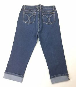 Wakee Denim Blue Womens 3/4 Size 12