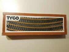 "Tyco HO Scale Box of 12 Tru-Steel 18"" Radius Curve Track and Rerailer"