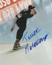 TREVOR MARSICANO SIGNED USA SPEED SKATING OLYMPICS 8x10 PHOTO! Autograph PROOF