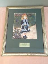 Renoir's A Girl With Watering Can Litho Print National Gallery of Art Wash. DC