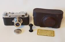 Very rare FED-2 Model Square Window USSR Soviet Union Russian 35 mm Leica copy