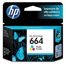 NEW HP 664 TRI-COLOR Original Ink Cartridge Deskjet F6V28AL, Inkjet Printer
