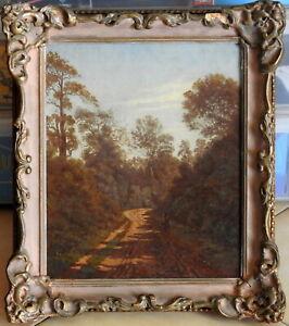 William Heunert (1847-1907) Original Oil Painting Traveller Bulli Pass Illawarra