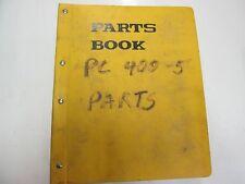 Komatsu PC400-5 PC400LC-5 Hydraulic Excavator Parts Book Manual BINDER STAINED