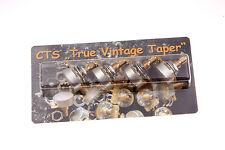 """CTS """"TVT"""" True Vintage Taper 500K Short Shaft Potis SET (4) fits Gibson® Guitars"""