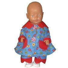 PK62 Puppenkleidung für Baby Puppen  43cm