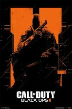 2012 XBOX 360 CALL OF DUTY BLACK OPS II ORANGE VIDEO GAME POSTER FAST FREE SHIP