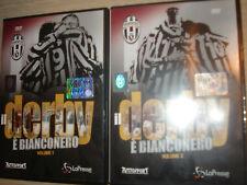OPERA COMPLETA 2 DVD OFFICIAL IL DERBY E' BIANCONERO FC JUVENTUS VS TORINO JUVE