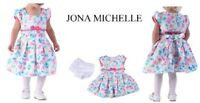 Girls Dress Age 24months By Jona Michelle Multi Floral Brand New With Tags