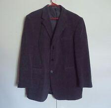 Zegato Black & Gray Striped Men's Blazer 42S