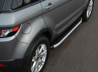Aluminium Side Steps Bars Running Boards To Fit Range Rover Evoque (2011+)