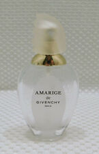 Amarige de Givenchy Perfume Bottle Atomizer Spray Frosted Glass Top Empty