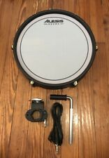"""Red Alesis 12"""" Mesh Snare Drum Pad NEW w/Knob Clamp & Cable Crimson SE E-Drums"""