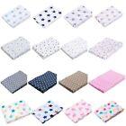 Haton Toallas esponjosas Set 6 piezas Paños BABAS pañales de tela con Estrellas