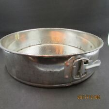"Vintage Springform Cheese Cake Aluminium Pan 11"" ROUND"