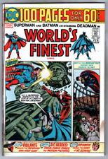 WORLD'S FINEST COMICS 227 DC Batman Superman 1974 Joker Deadman