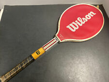 Vintage Wilson Jimmy Conners Professional Champ Wood Tennis Racquet Racket 4 1/4