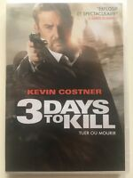3 days to kill DVD NEUF SOUS BLISTER Kevin Costner