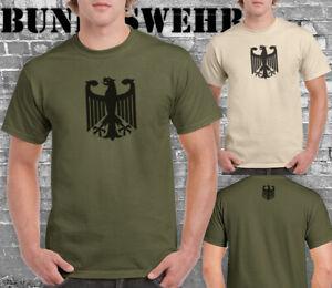 German Deutsche Army Eagle Bundeswehr tshirts men Party dress fun top tee