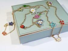"Beautiful Long Enamelled ""Les Nereides"" Necklace - 104cms - FREE UK P&P...CG0372"