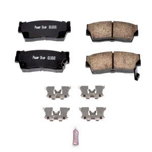 Frt Ceramic Brake Pads  Power Stop  17-418