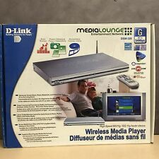 D-Link / DSM-320 / 54Mbps / 802.11G / Wireless Media Player