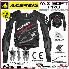 GILET PROTECTION ACERBIS MX-SOFT PRO 2018 MOTO CROSS ENDURO OFFROAD TAILLE S / M