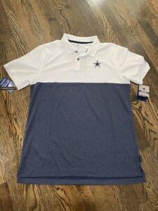 Nike Dallas Cowboys Dri Fit Early Season Polo Golf Mens Size Large