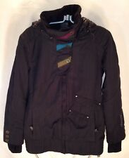 E171 Obermeyer Eden Jacket Ski/Snowboard Women's Jacket, Black, Size 4