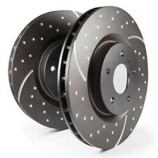 EBC Turbo Groove Disc Bremsscheibe Black VA auch für Audi A1 8X1, 8XF, S1 quattr