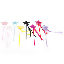 Cute Five pointed Star Fairy Wand Magic Stick Girl Party Princess Favors LJ
