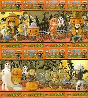 ONE PIECE WCF World Collectable Figure 8 set HALLOWEEN SPECIAL 2 Luffy Zoro Nami