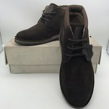 MENS HUSH PUPPIES BARRICANE HERITAGE BROWN  SUEDE LEATHER  DESERT BOOTS UK 7