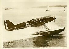 """COUPE SCHNEIDER D'AVIATION 1931 Lt SNAITH"" Photo originale G. DEVRED (Agce ROL)"