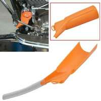 Orange Drip-Free Oil Filter Motorcycle Funnel For Harley Sporster Touring Dyna