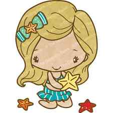 STARFISH ANYA-The Greeting Farm Cling Mount Rubber Stamp-Stamping Craft-Beach