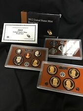 2012 United States Mint Proof Set with COA