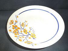 antiguo plato en cerámica de Givors modelo Simone arte popular french Antiguo