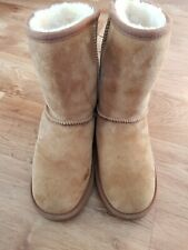 Sheepskin Winter Boots, JUST SHEEPSKIN, Chestnut, Size Uk 5