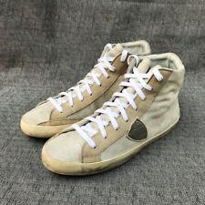 Philippe Model Paris Hd Glitter Hi-Top Sneakers Leather Size US: 8 / EU: 41