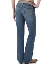 Wrangler Denim Mid-Rise Boot Cut Jeans for Women