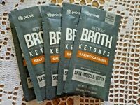 Pruvit Better Broth  Packets Salted Caramel Powered by AC11 **5 Pack***