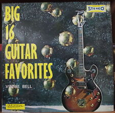 VINNIE BELL BIG 16 GUITAR FAVORITES FRENCH LP