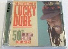 LUCKY DUBE The Life and Times of 50th Birthday 2CD SOUTH AFRICA Cat# CDLUCKY 18