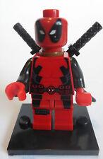 Deadpool Minifigure - new in bag - Lego compatible figure figurine