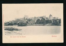 Berkshire WINDSOR Castle from Thames c1902 u/b PPC